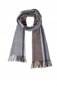 Écharpe en laine cachemire pour homme et femme avec motiv 170 x 35 cm