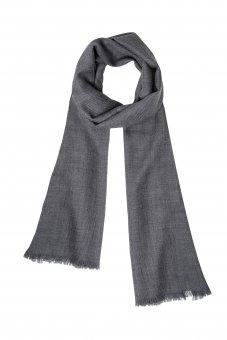 Écharpe en laine cachemire pour homme et femme couleur gris 200 x 65 cm