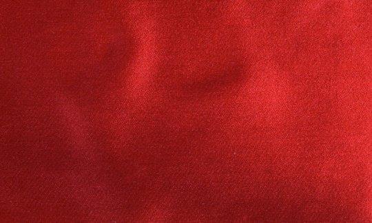 Foulard en soie Rouge - uni couleur, Dessin 210045