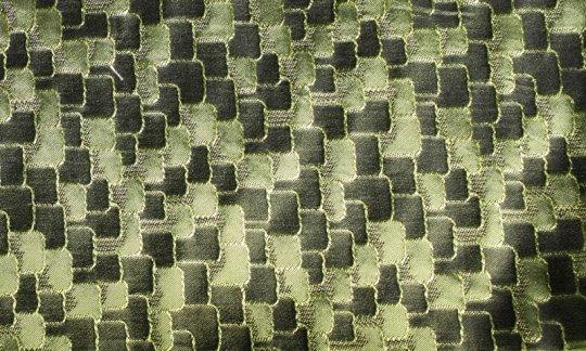 Foulard en soie Vert - ton sur ton, Dessin 200035