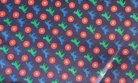 Pochette de costume / mou choir Rouge, Vert, Bleu, Bleu marine - Imagettes, Dessin 200110