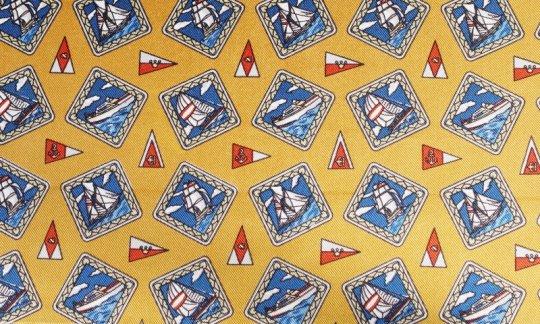 Ceinture de smoking Rouge, Jaune, Or, Bleu - Carreaux, Dessin 200111