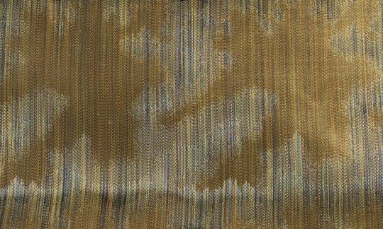 Pochette de costume / mou choir Vert, Or - à motifs, Dessin 200167
