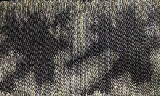 Cravate Vert, Or - à motifs, Dessin 200228