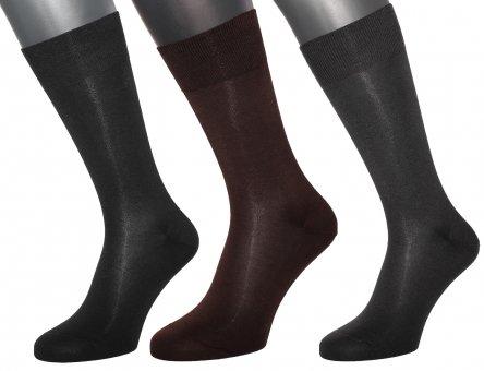 Chaussettes élégantes en coton très fin