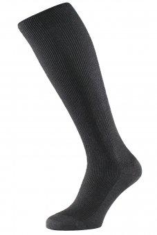 Chaussettes de compression anthracite pour voyages